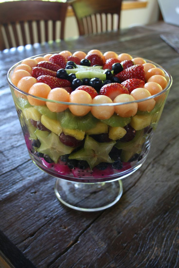 Fruit Salads Thanksgiving  Thanksgiving fruit salad food