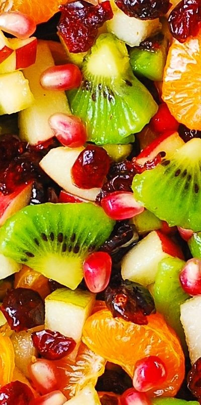 Fruit Salads Thanksgiving  Winter Fruit Salad with Maple Lime Dressing