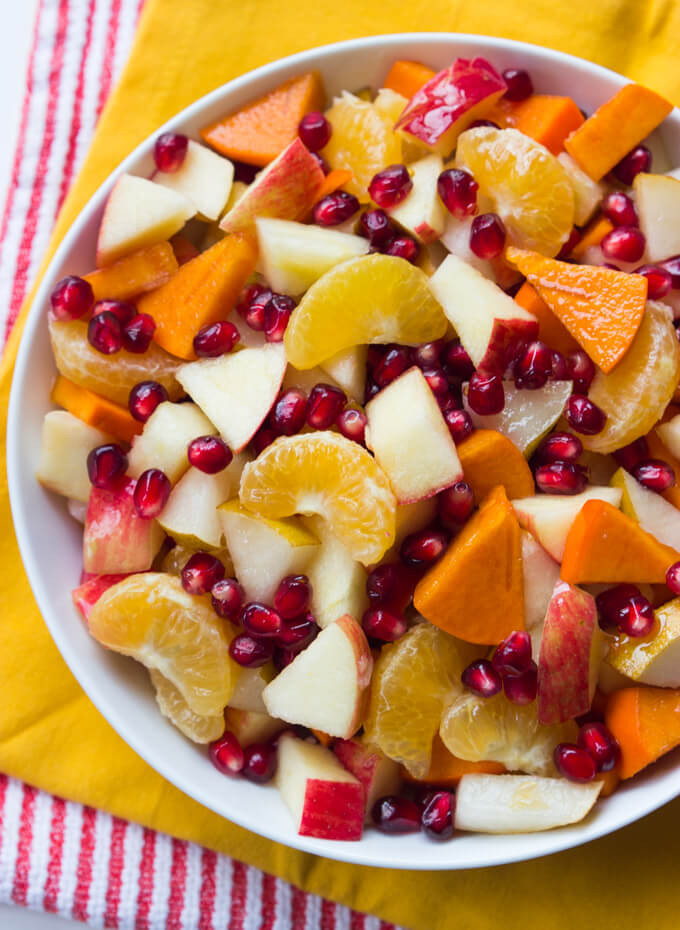 Fruit Salads Thanksgiving  Thanksgiving Appetizers Salads Sides and Desserts