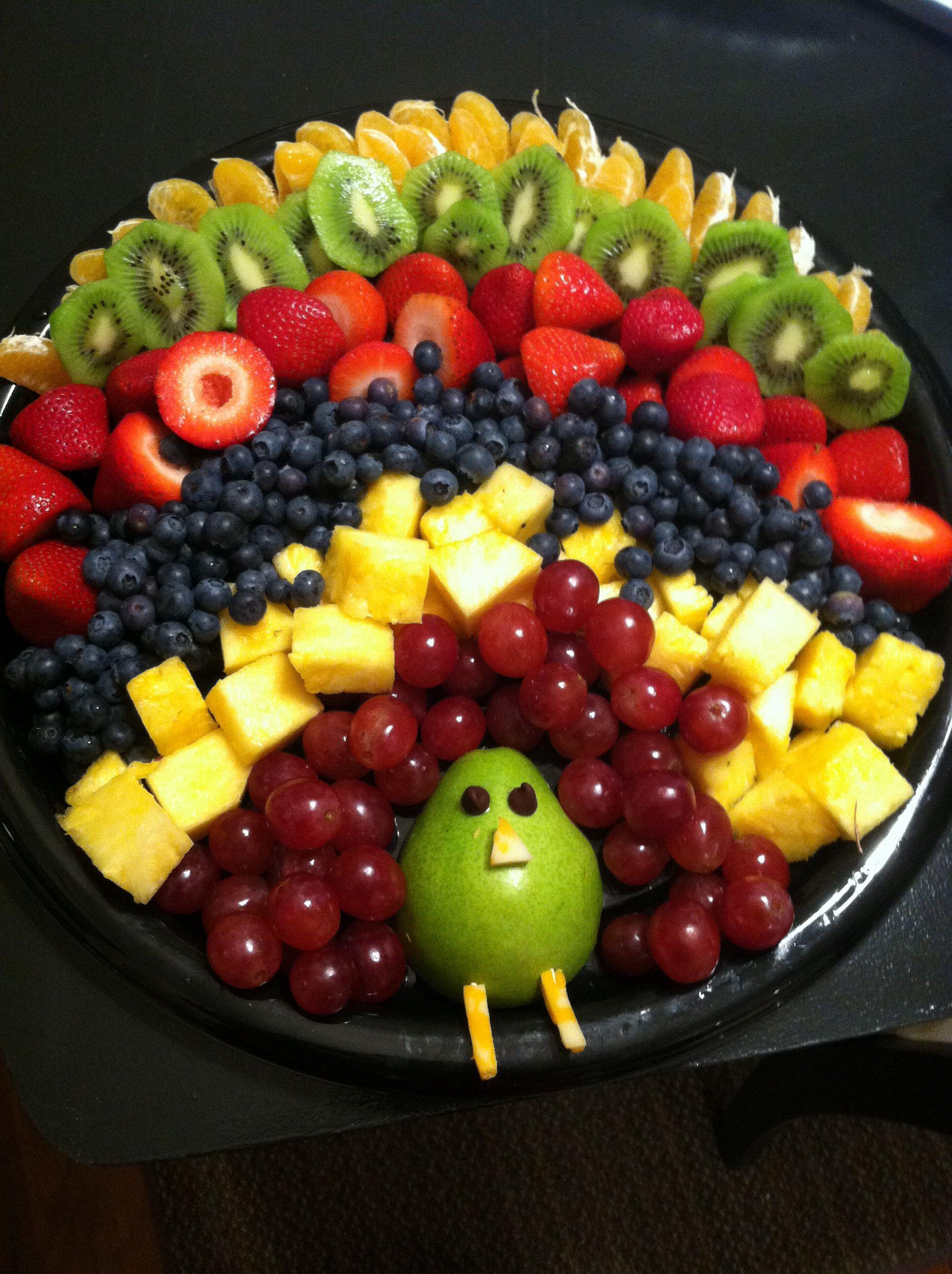 Fruit Salads Thanksgiving  Fruit tray for thanksgiving morning