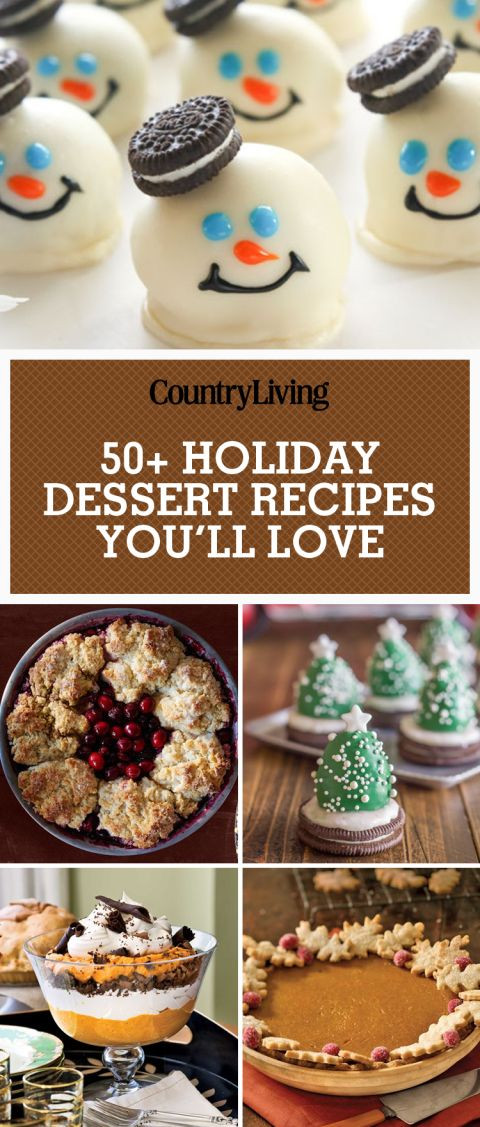 Fun Easy Christmas Desserts  Best 20 Fun holiday desserts ideas on Pinterest