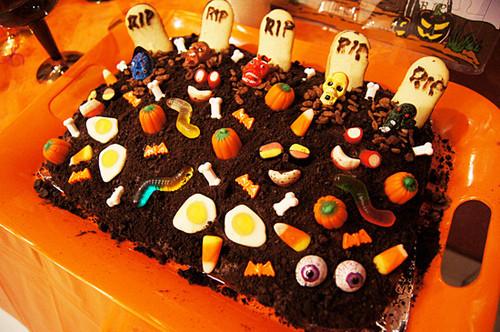 Fun Halloween Cakes  Halloween party food