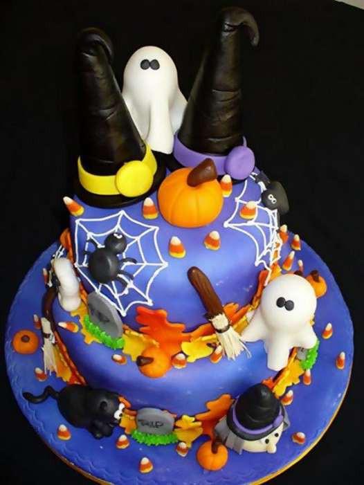 Fun Halloween Cakes  Halloween cakes 46 Pics