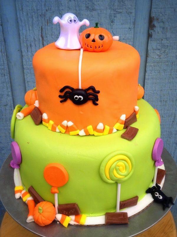 Fun Halloween Cakes  Best 25 Halloween cake decorations ideas on Pinterest