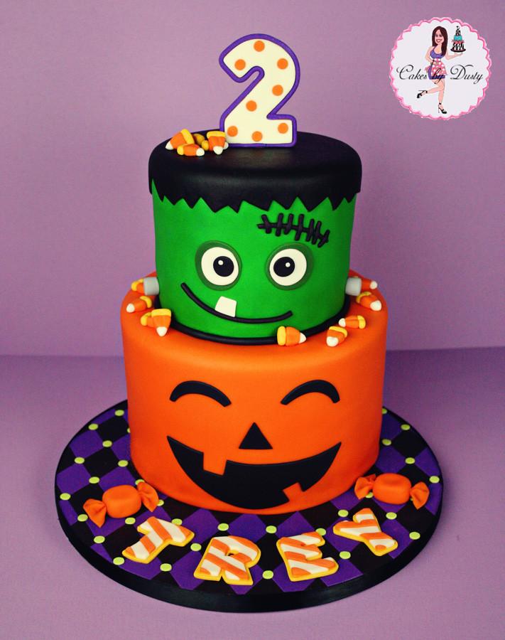 Fun Halloween Cakes  Cakes by Dusty Trey s Halloween Birthday Cake