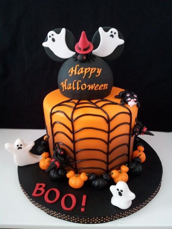 Fun Halloween Cakes  Non scary Halloween cake decorations – fun cakes for kids