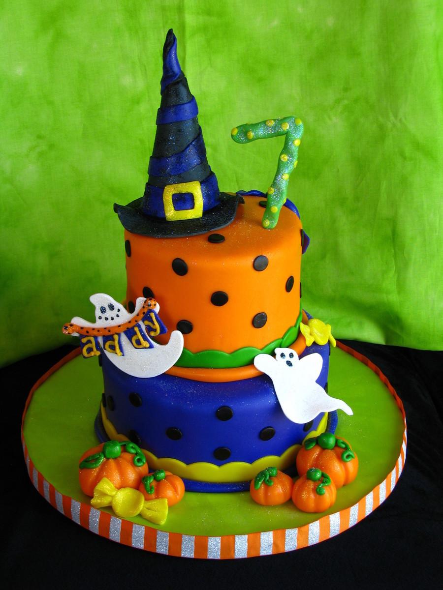 Fun Halloween Cakes  Halloween Birthday Cake CakeCentral
