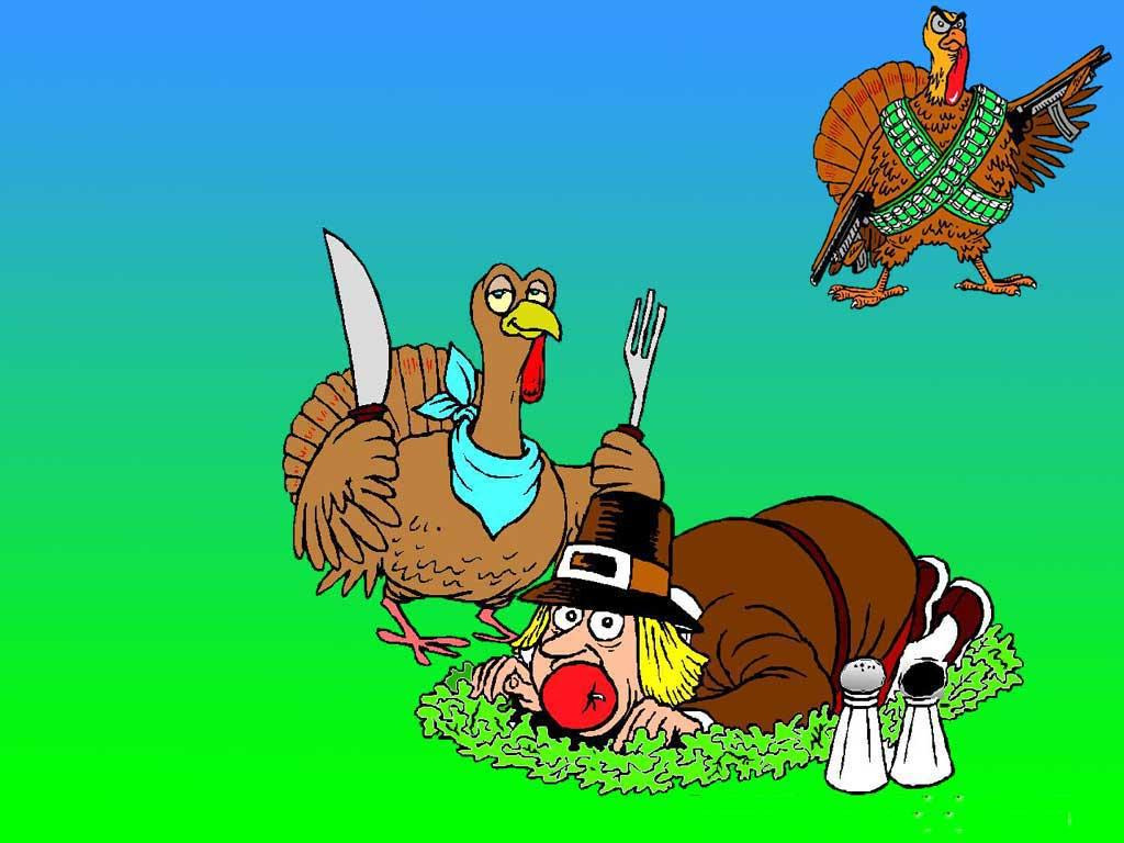 Funny Thanksgiving Turkey  Free Thanksgiving Day Wallpapers