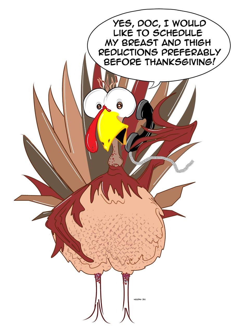 Funny Thanksgiving Turkey  Shelly s Gobble Gobble
