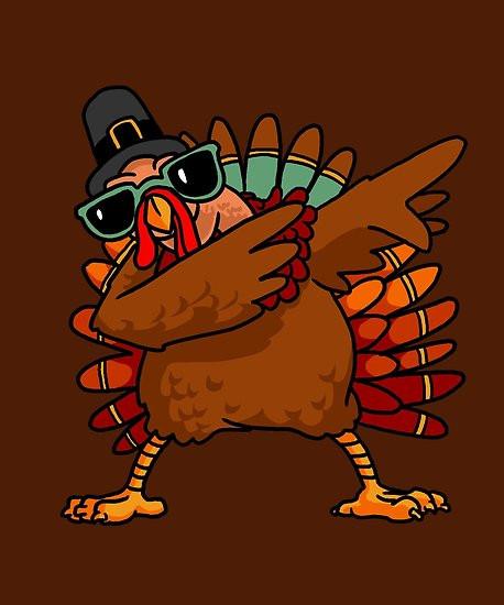 "Funny Thanksgiving Turkey  ""Dabbing Turkey Shirt Funny Thanksgiving Turkey Costume"
