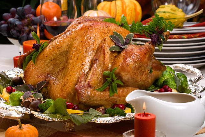 Giant Thanksgiving Turkey Dinner  The Belle of Cowbell The Bipolar Therapist from Willow