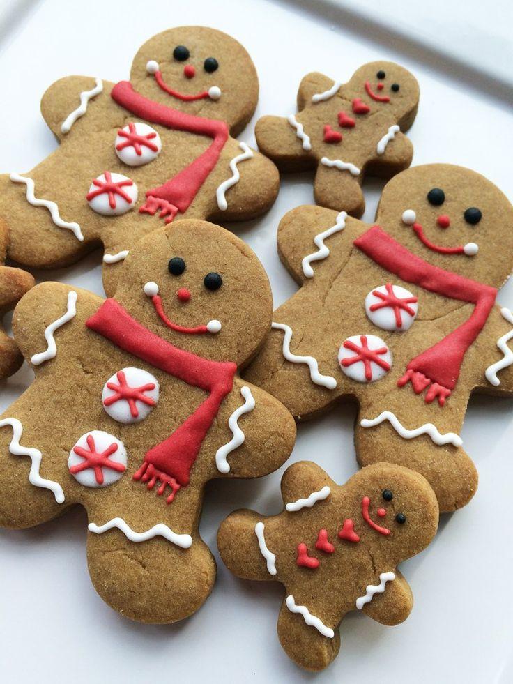 Ginger Bread Christmas Cookies  Best 25 Gingerbread cookies ideas on Pinterest