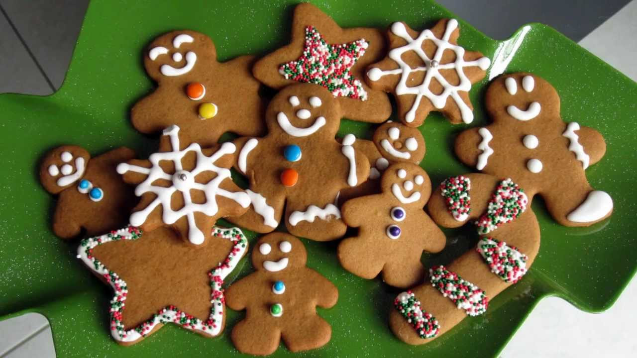 Ginger Bread Christmas Cookies  Christmas Treats Gingerbread Cookie Recipe