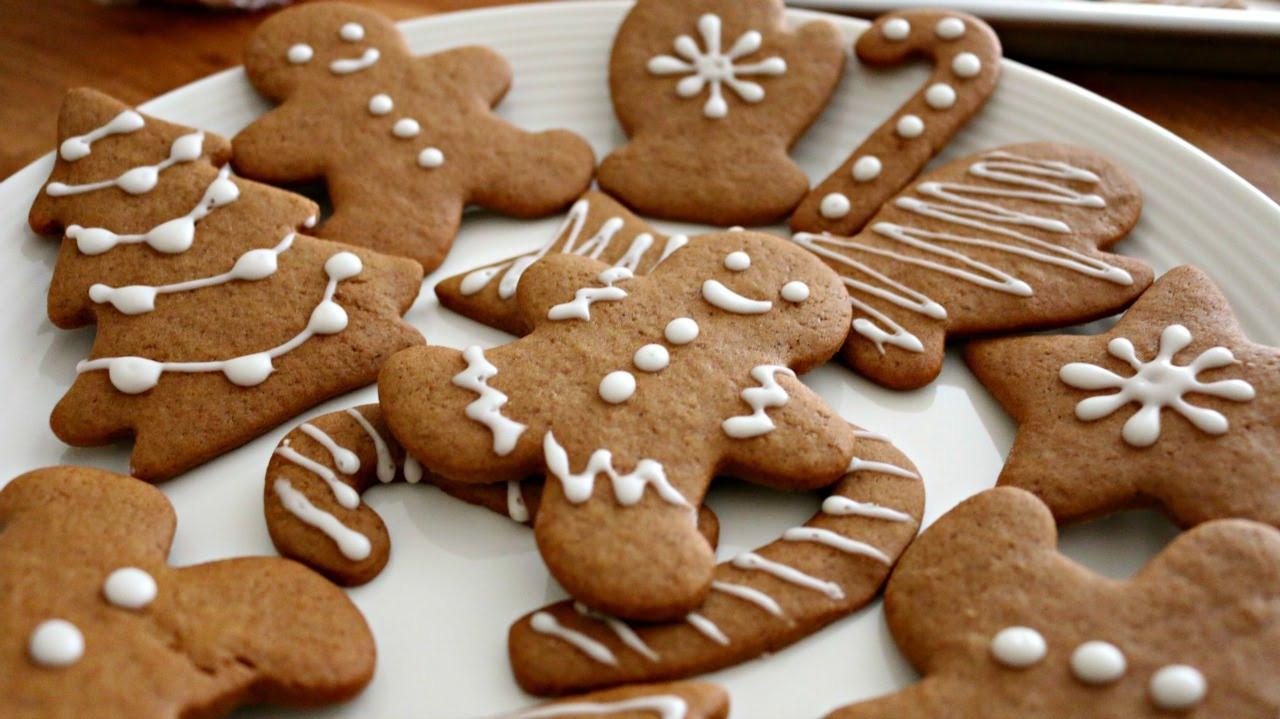 Ginger Bread Christmas Cookies  Christmas Gingerbread Men Cookies
