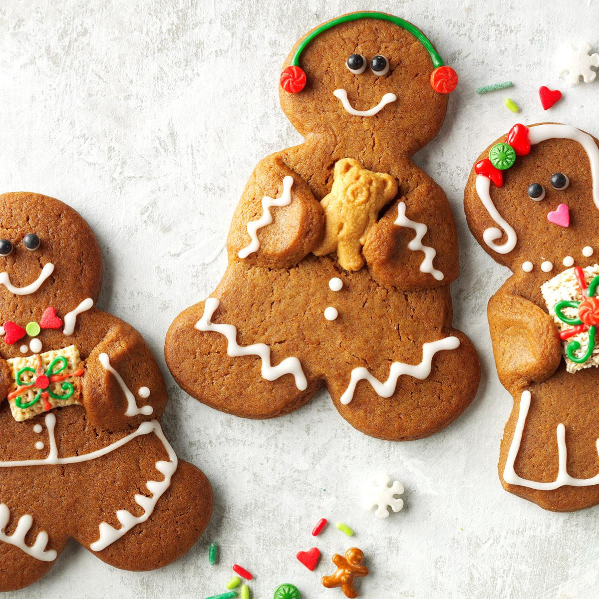 Ginger Bread Christmas Cookies  Gingerbread Bud s Recipe