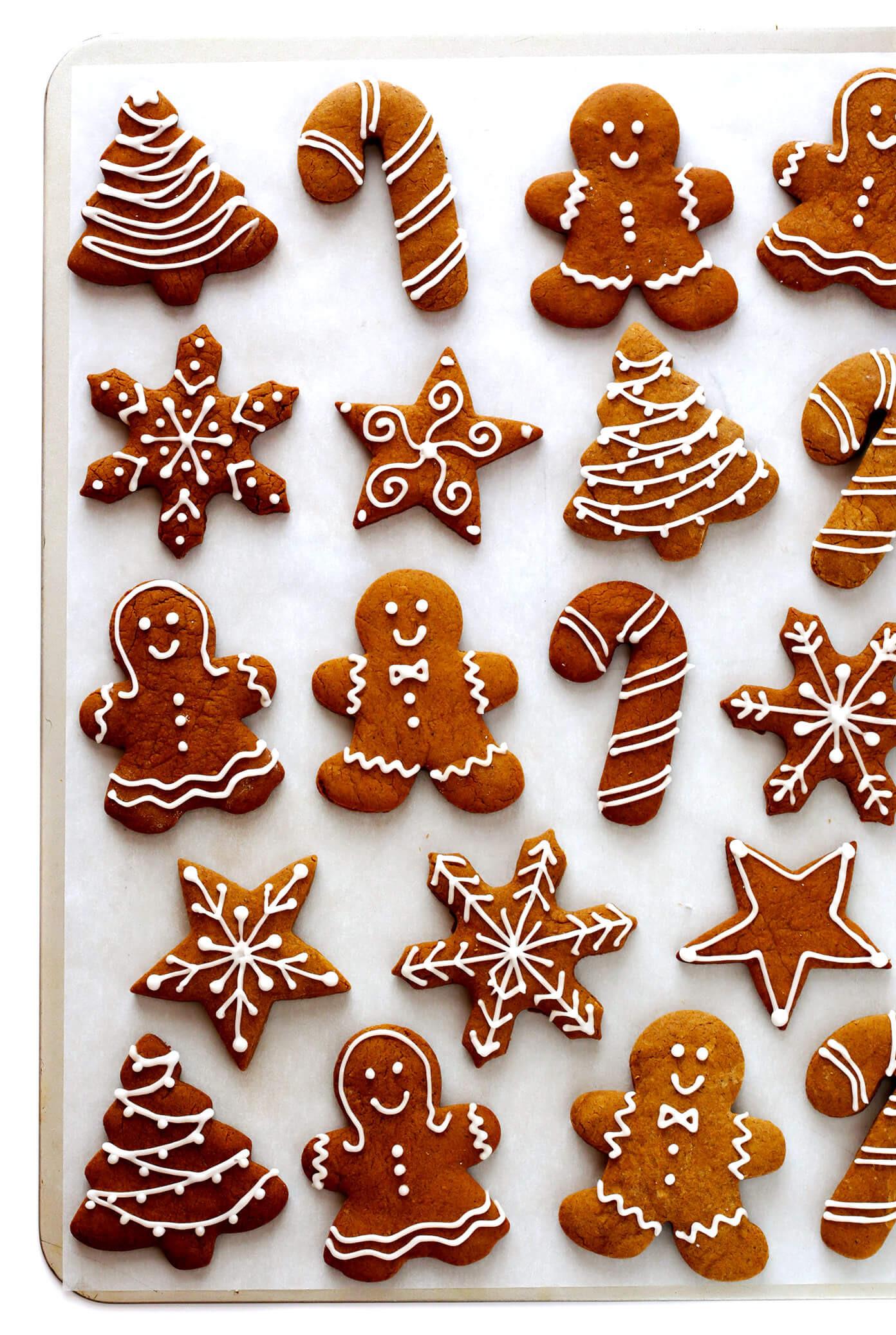 Ginger Bread Christmas Cookies  Gingerbread Cookies