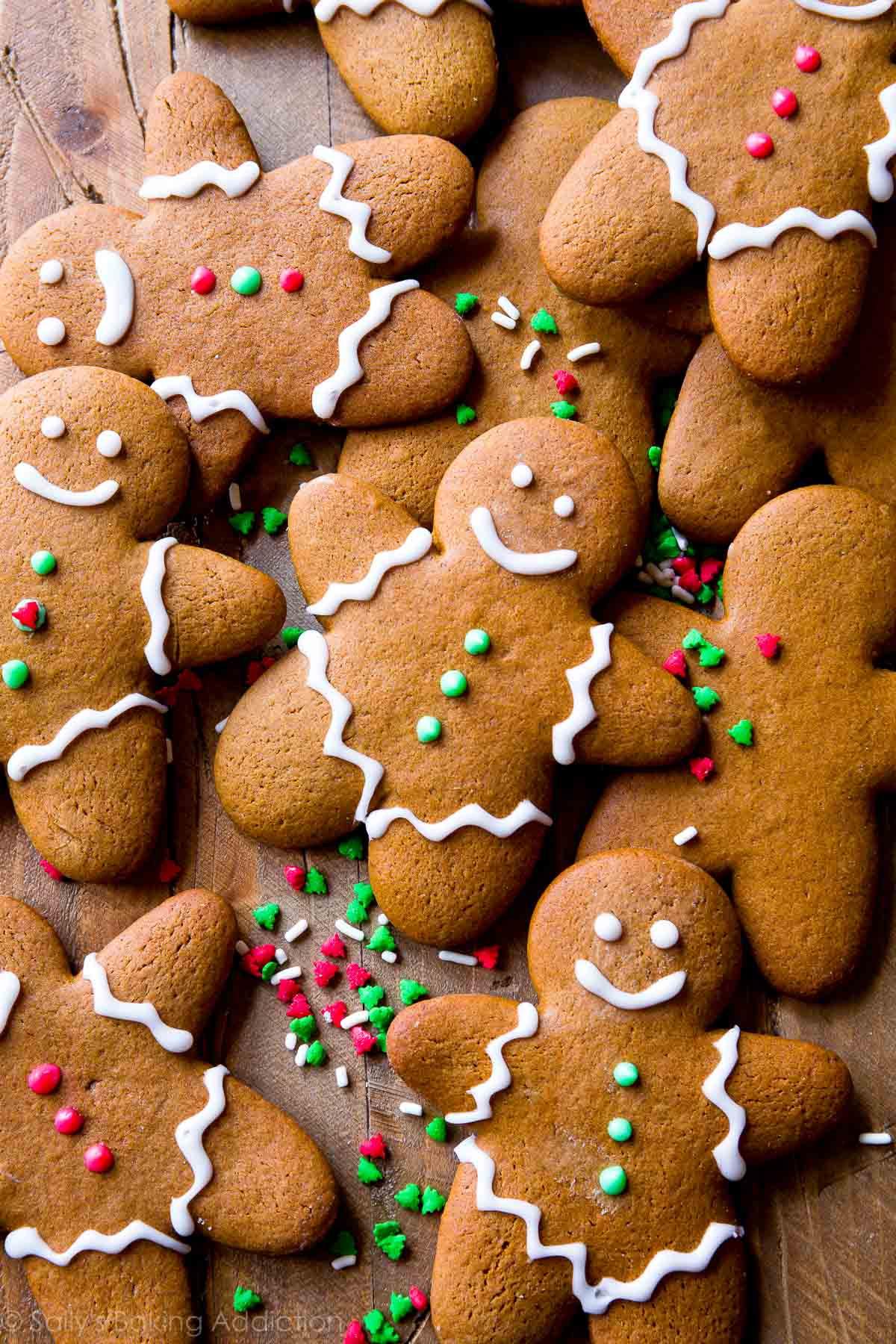 Ginger Bread Christmas Cookies  My Favorite Gingerbread Men Recipe Sallys Baking Addiction