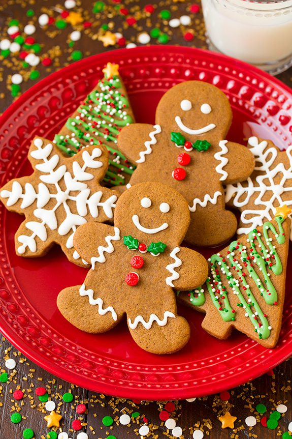 Ginger Bread Christmas Cookies  Gingerbread Cookies Cooking Classy