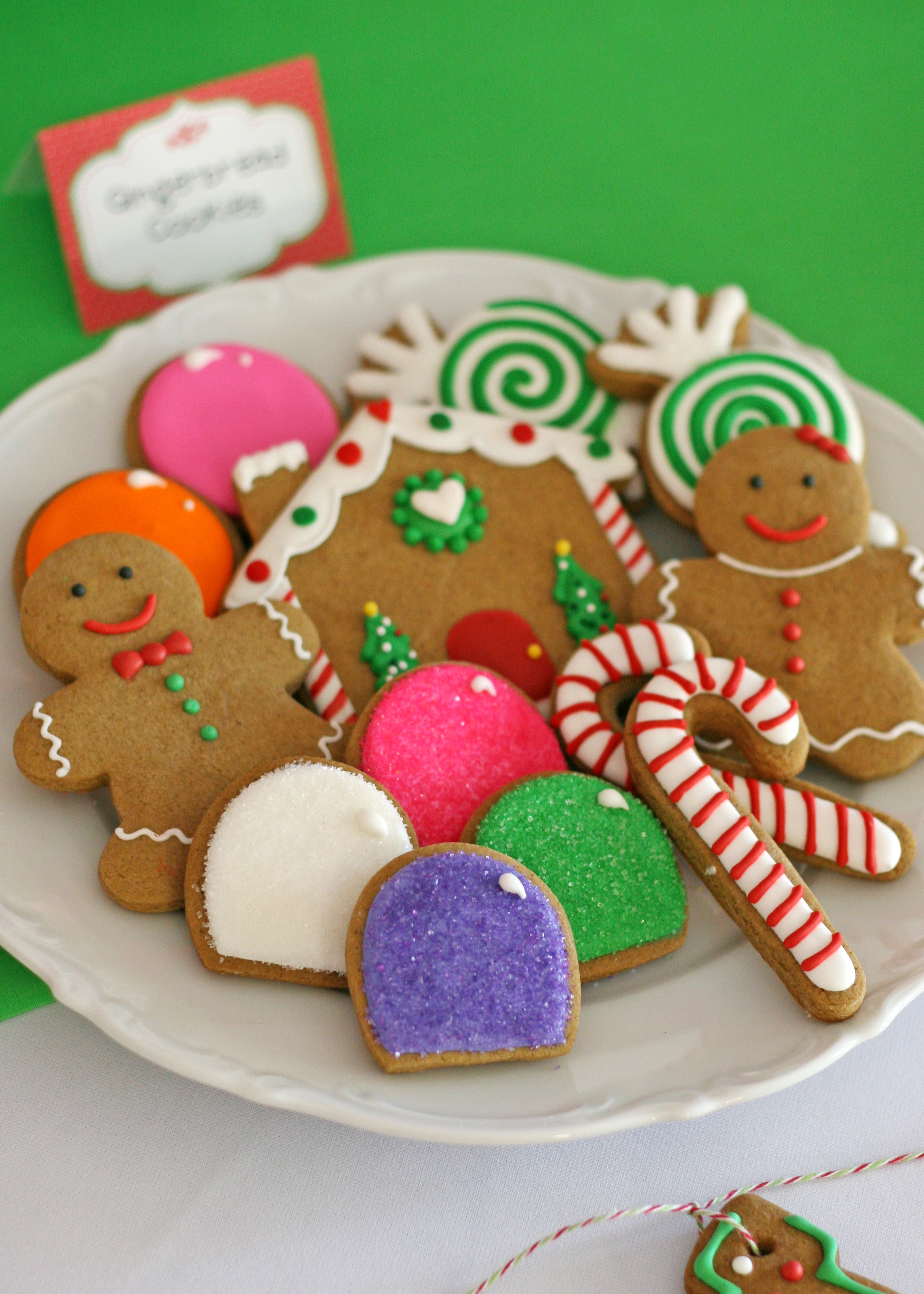 Ginger Bread Christmas Cookies  Christmas Cookie Exchange Party For Kids Creative Juice