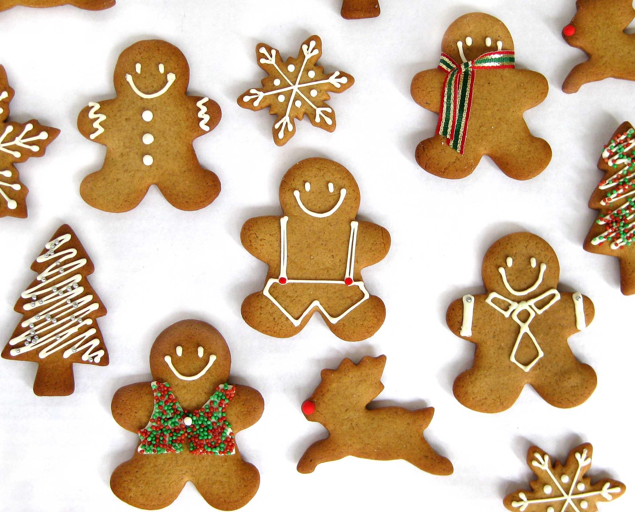 Ginger Bread Christmas Cookies  Ho Ho Ho – It's Gingerbread Time