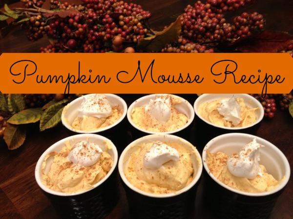 Gluten Free Desserts For Thanksgiving  Easy Gluten Free Thanksgiving Dessert Pumpkin Mousse Recipe