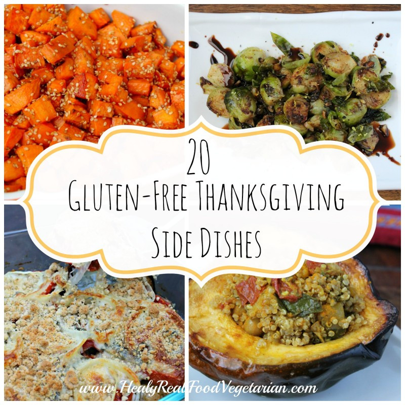 Gluten Free Thanksgiving Sides  20 Delicious Gluten Free Thanksgiving Side Dishes Healy