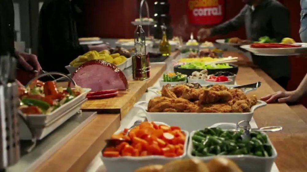 Golden Corral Thanksgiving Dinner To Go  Golden Corral Thanksgiving Day Buffet TV mercial