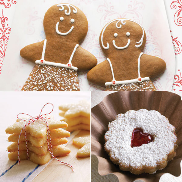 Hallmark Christmas Cookies  Christmas Cookie Recipes