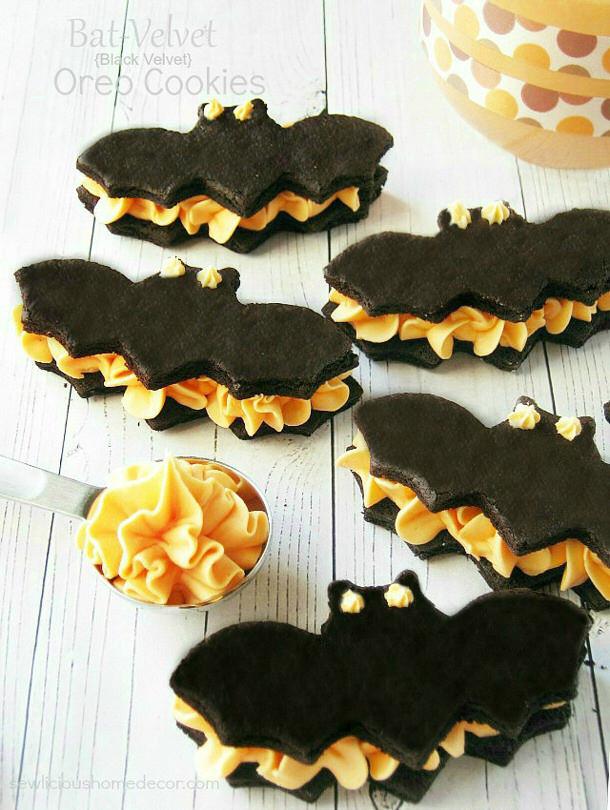 Halloween Bat Cookies  Spooktacularly Cute Halloween Treats
