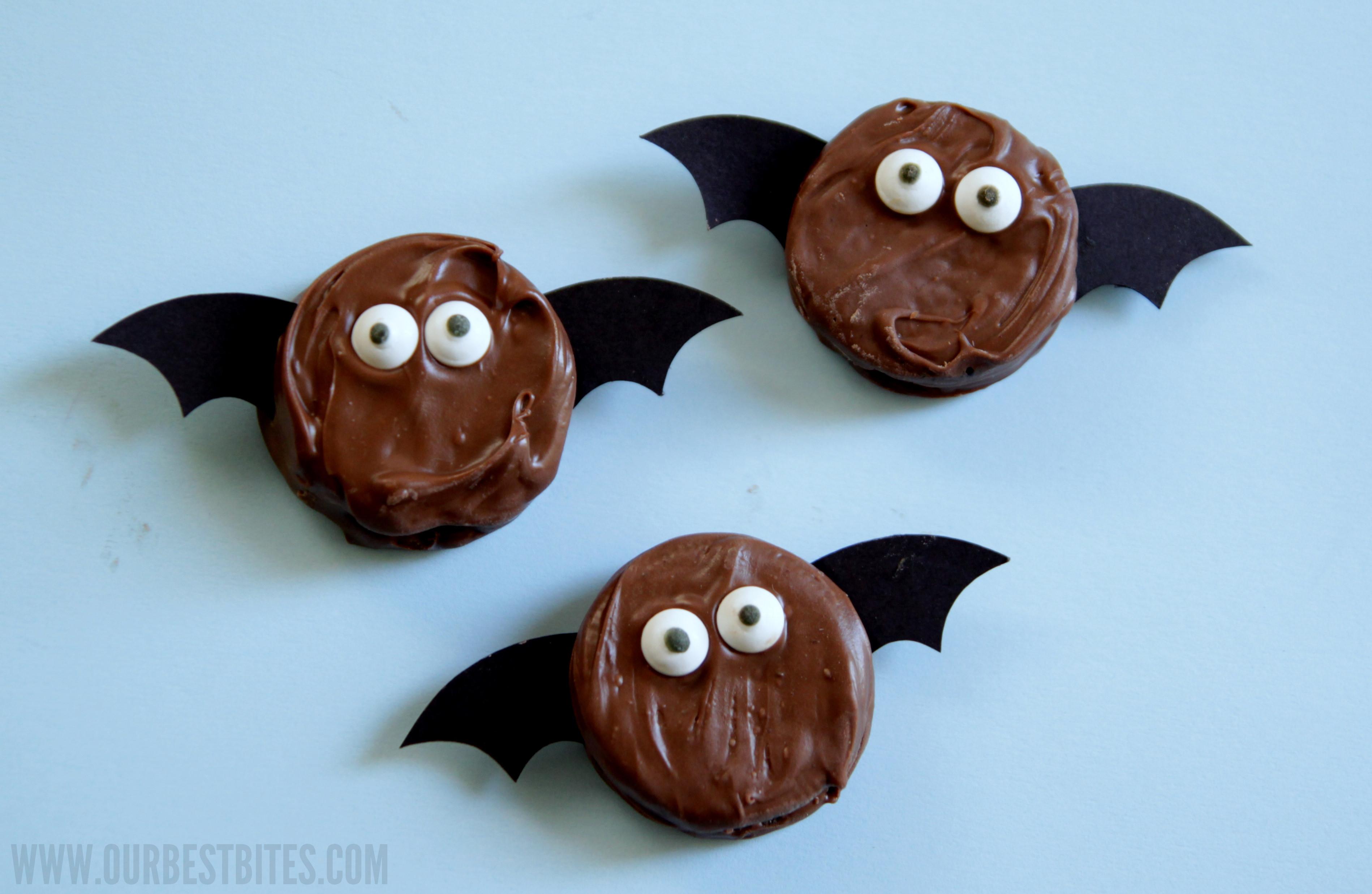 Halloween Bat Cookies  Not So Spooky Oreo Bats