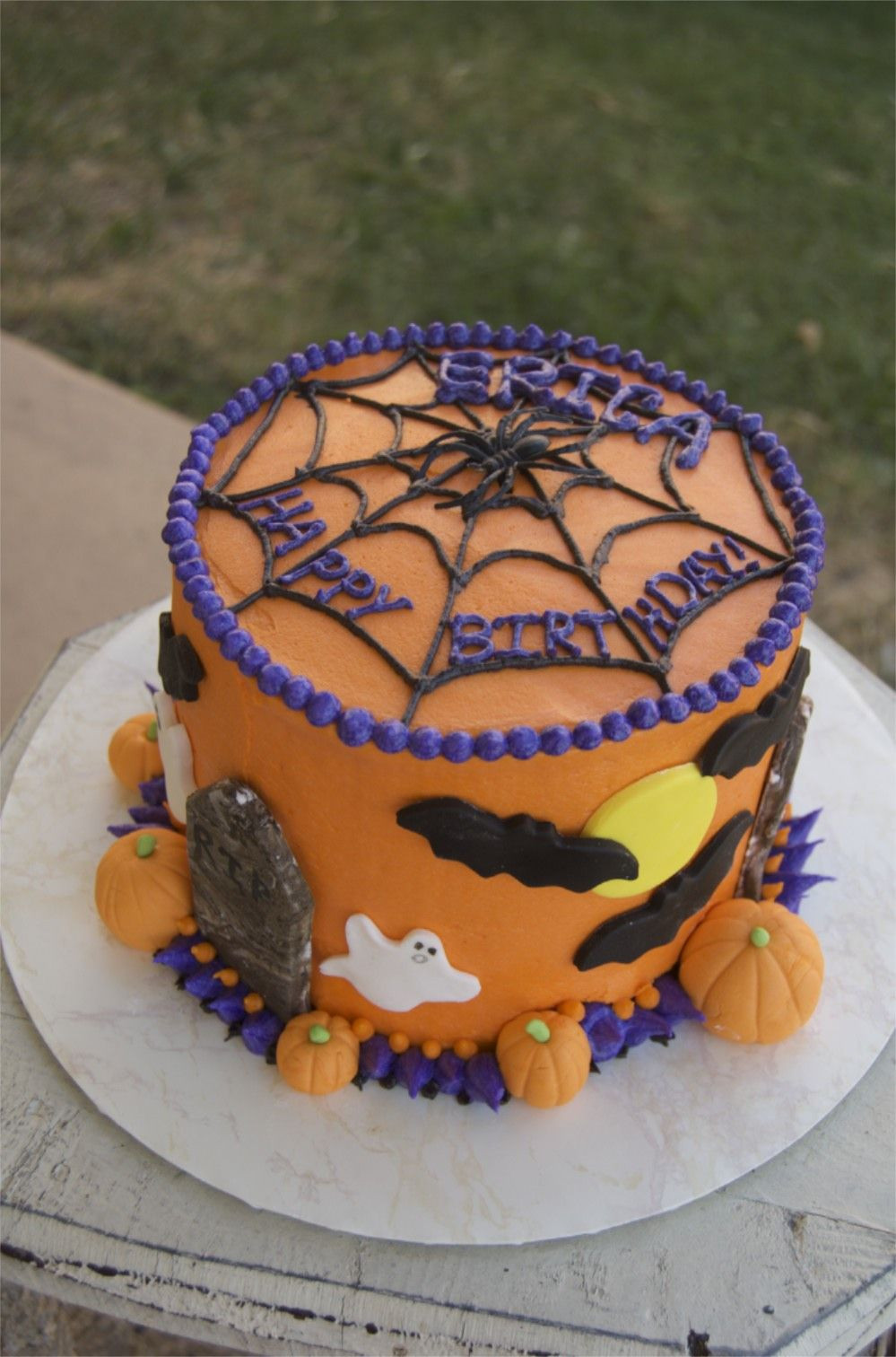 Halloween Birthday Cake Ideas  Halloween birthday cake …