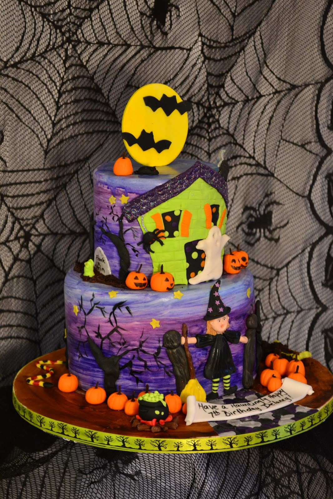 Halloween Birthday Cupcakes  Oh just put a cupcake in it Halloween birthday cake