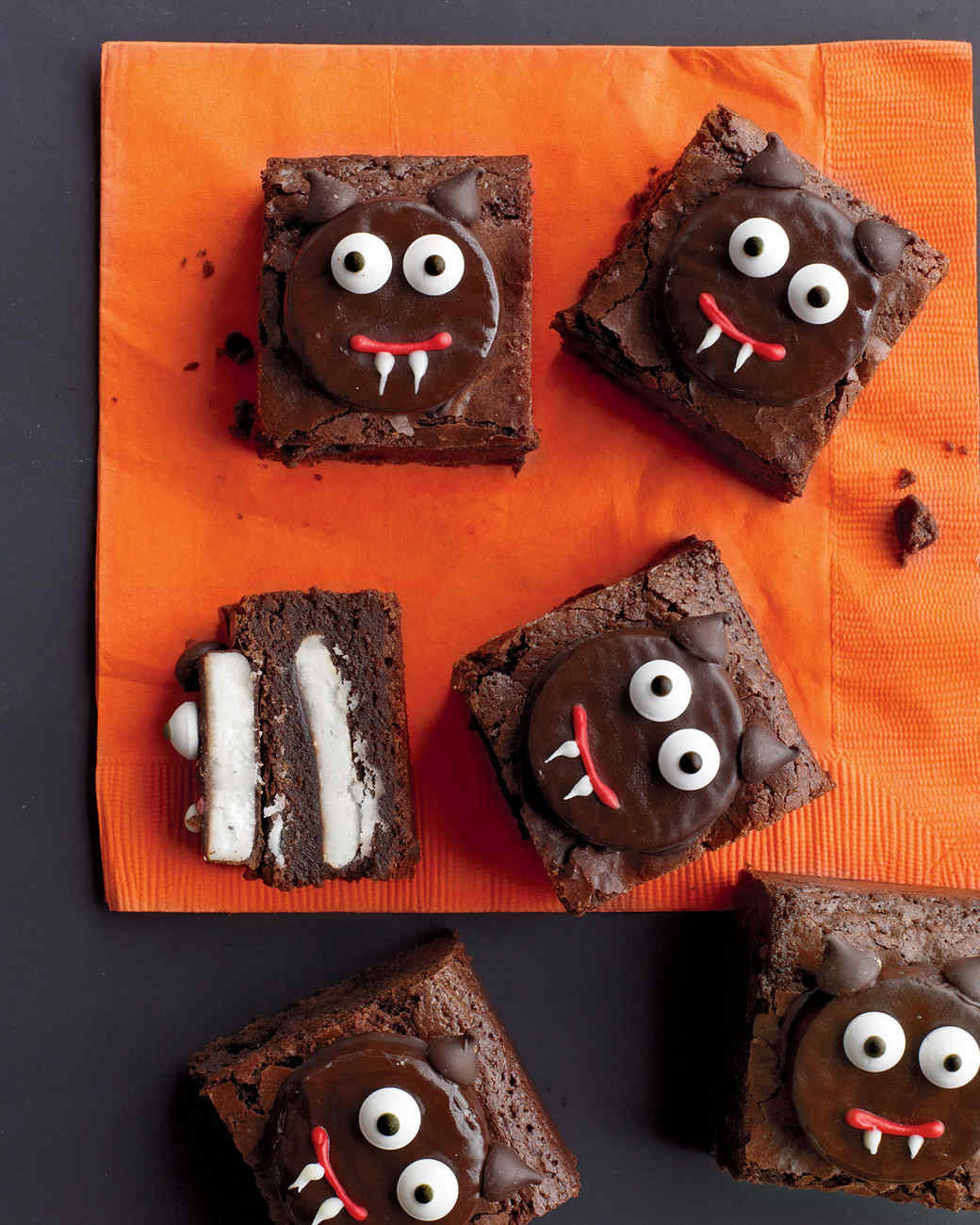 Halloween Brownies Decorating  13 Hauntingly Good Halloween Potluck Ideas