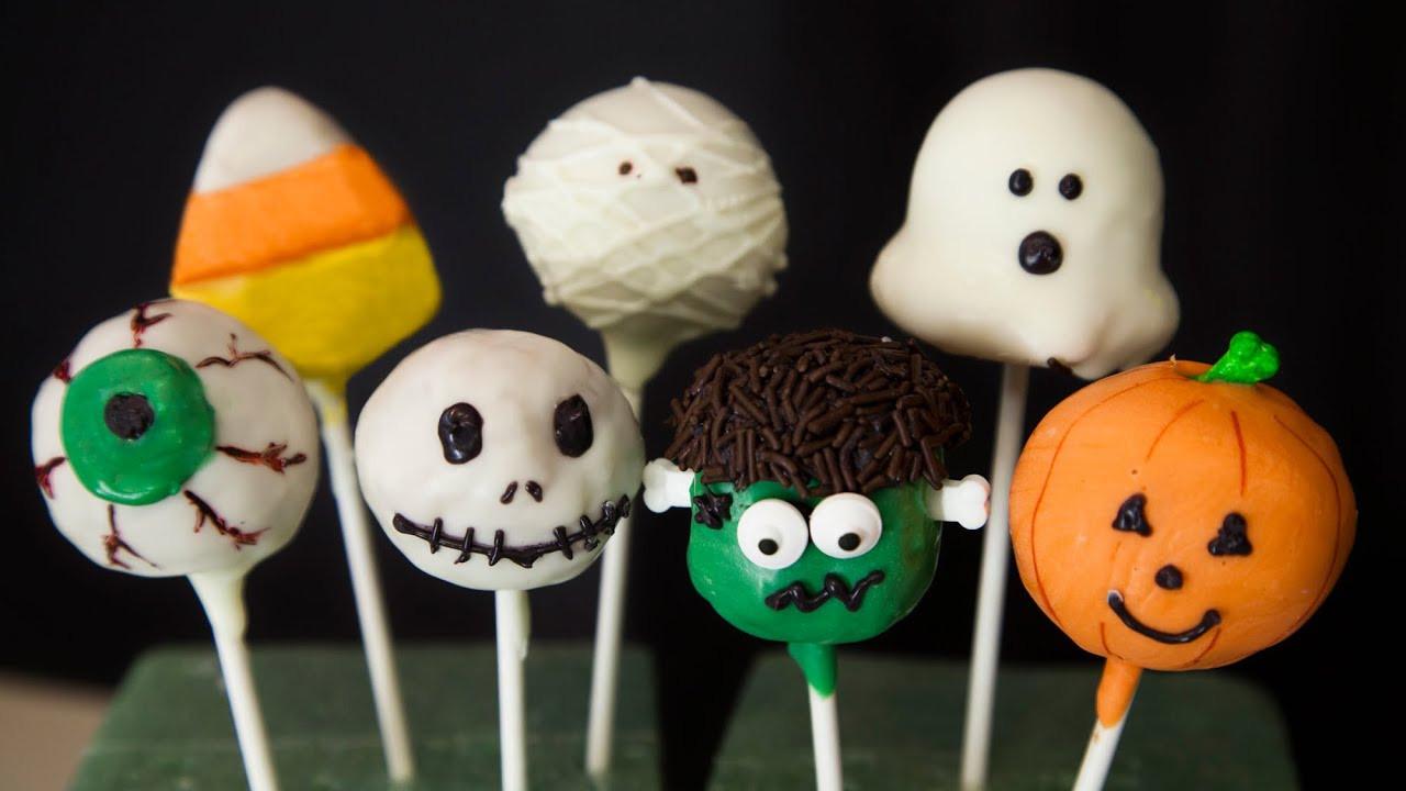 Halloween Cake Pops Recipe  HALLOWEEN CAKE POPS