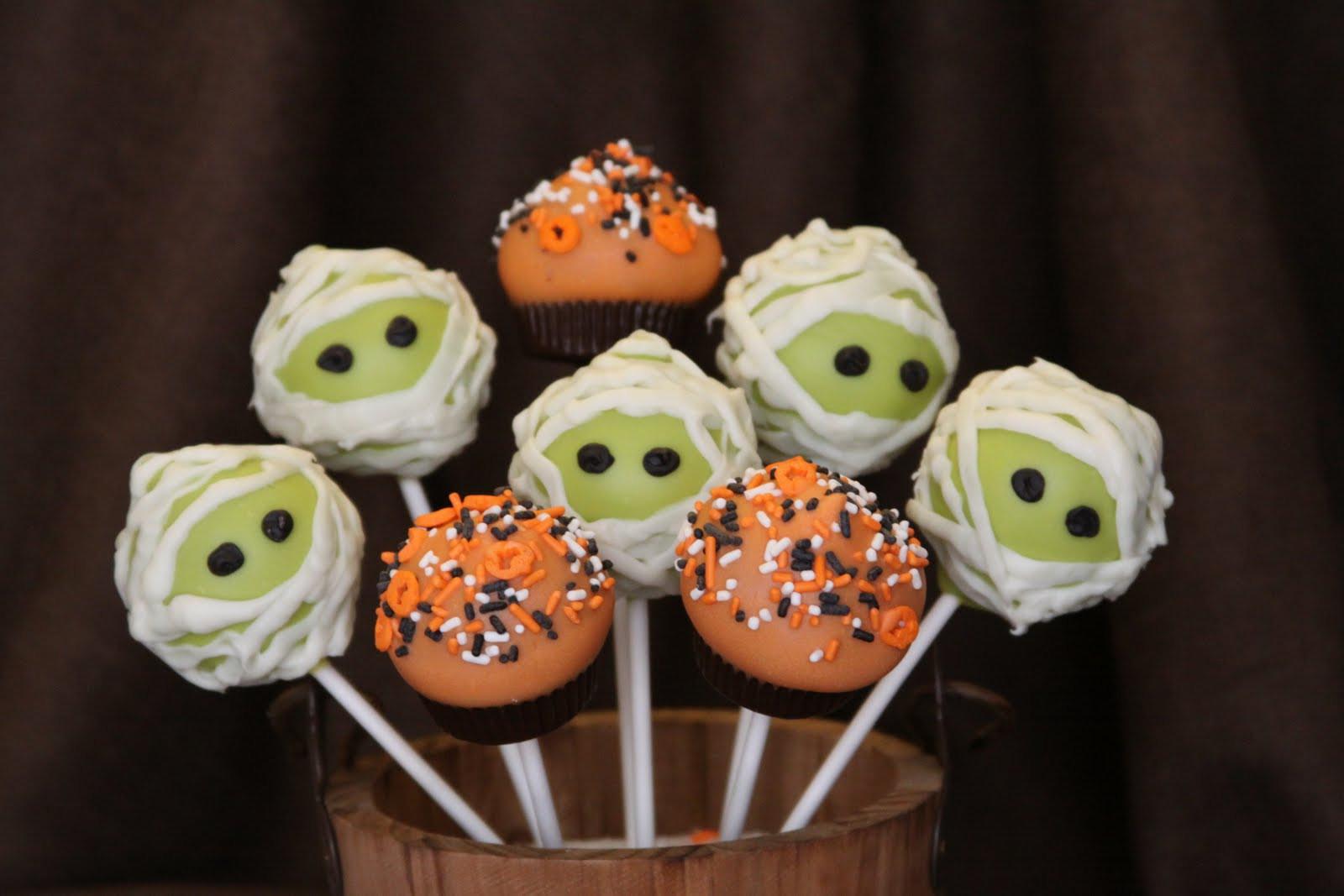 Halloween Cake Pops Recipe  Fall Halloween Cake Pops
