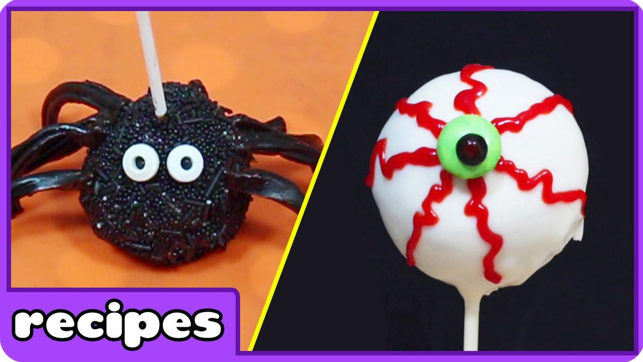 Halloween Cake Pops Recipe  Halloween Cake Pops and Easy Desserts by Hooplakidz