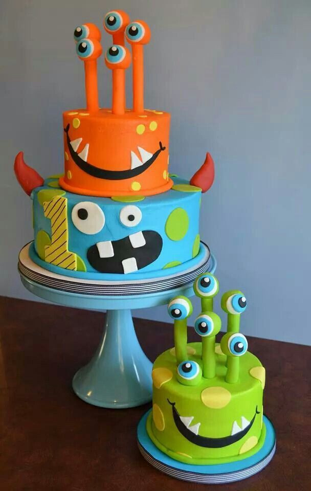 Halloween Cakes For Kids  1135 best images about Unique Kids Birthday Cakes Volume 2