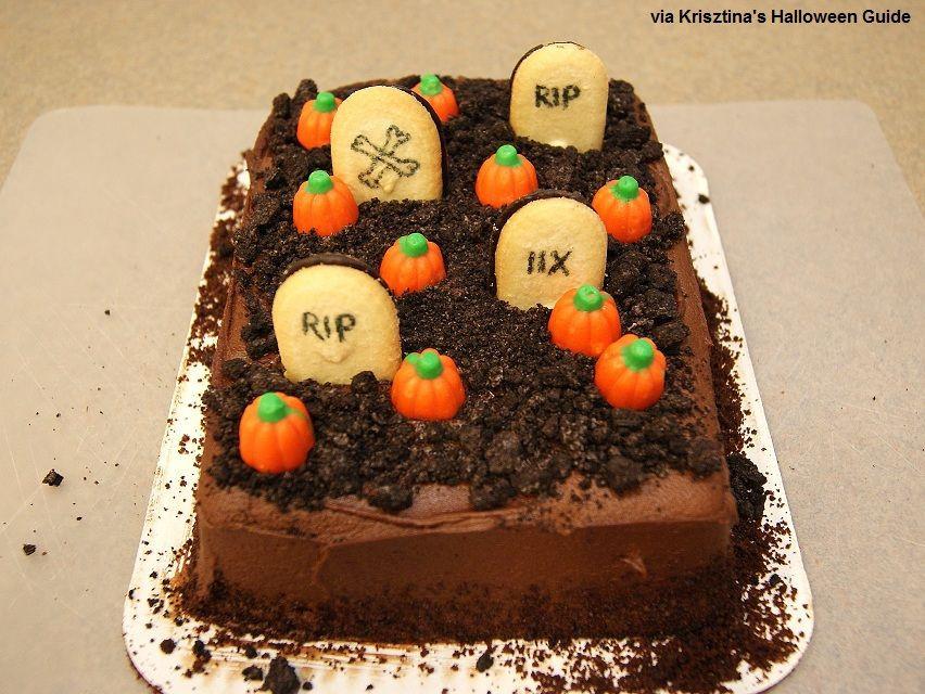 Halloween Cakes For Kids  Easy Halloween Cake Ideas
