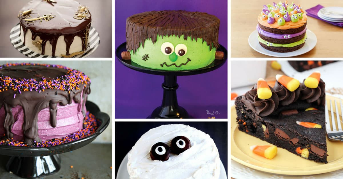 Halloween Cakes For Kids  EASY Halloween Cake Recipes To spook up your Halloween