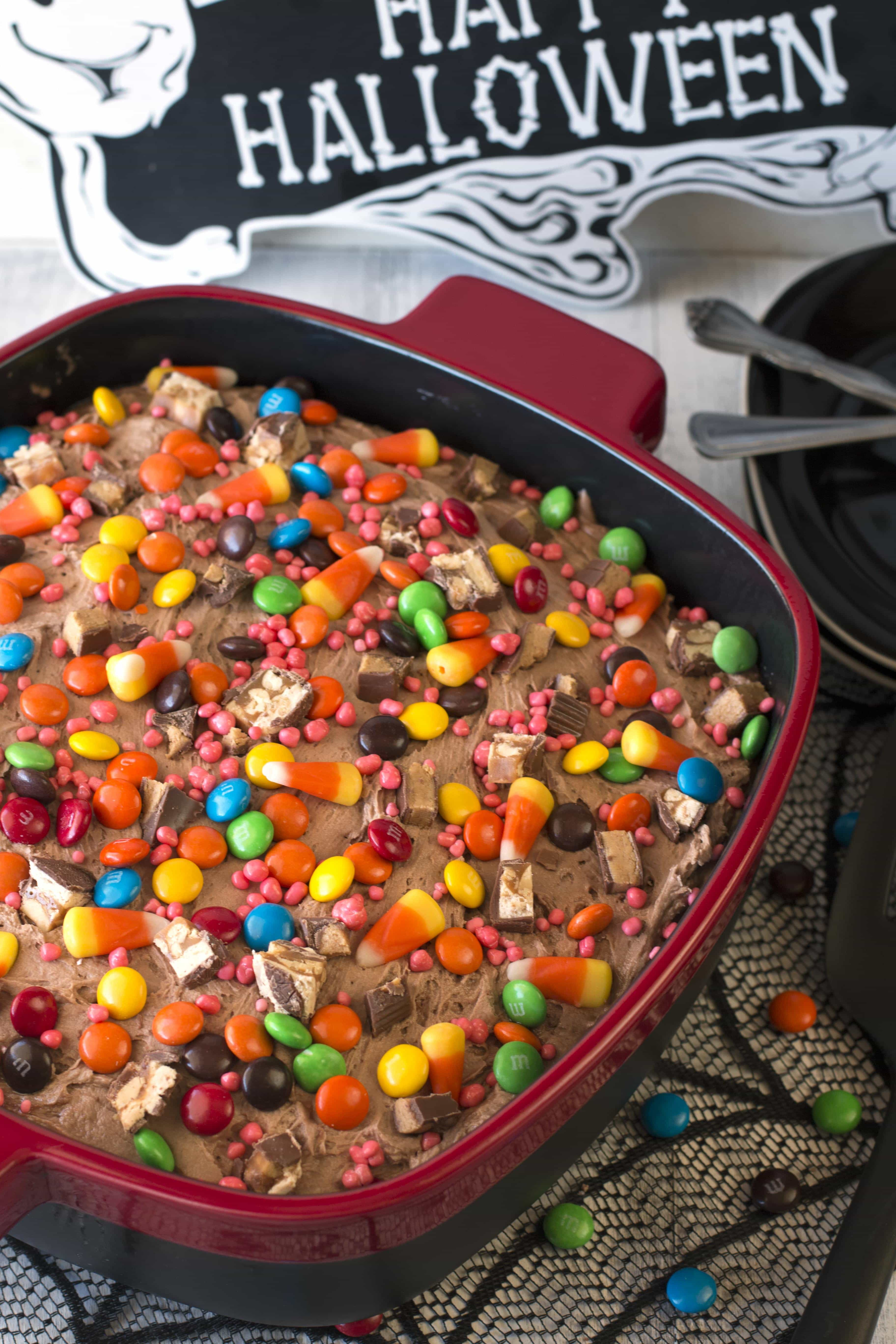 Halloween Candy Cakes  Leftover Halloween Candy Cake with KitchenAid Streamline