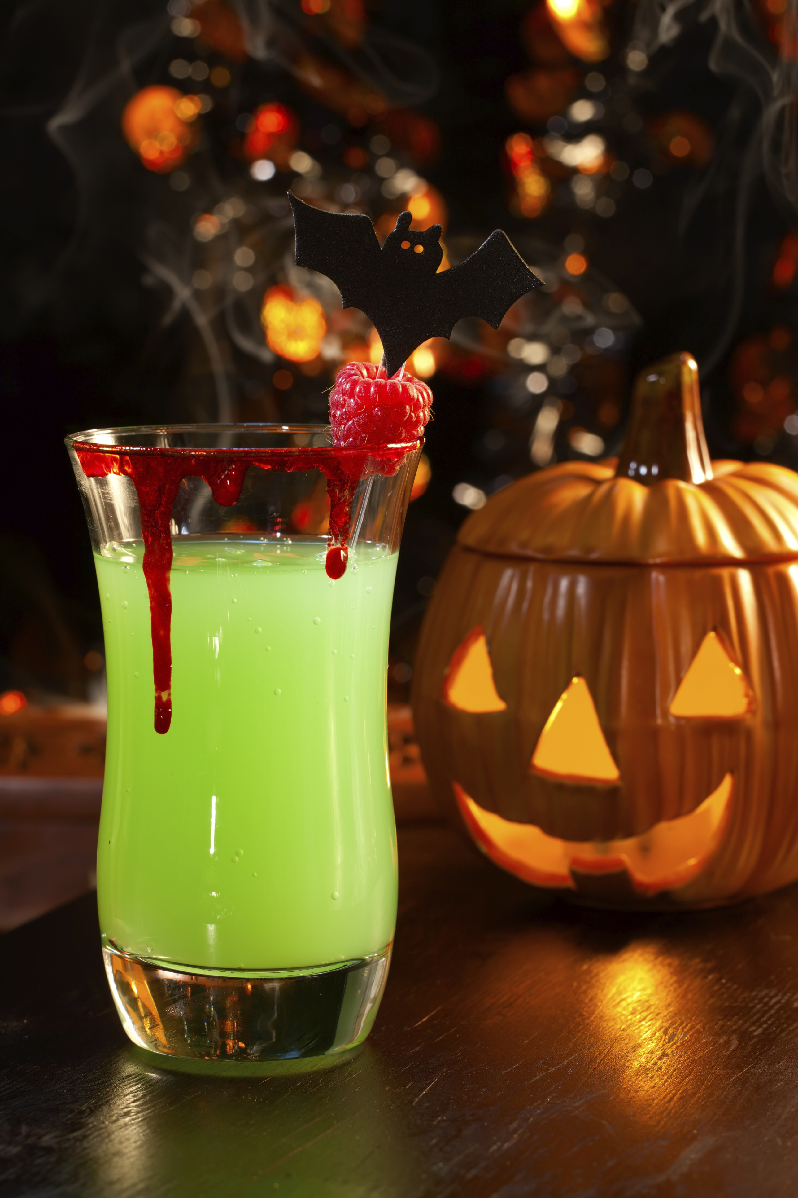Halloween Cocktail Drinks  3 Terror ific Halloween Party Treats A Pinch of This a