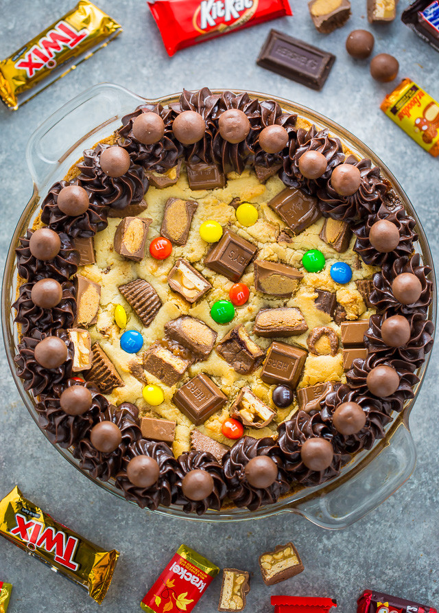 Halloween Cookie Cakes  Halloween Candy Cookie Cake Baker by Nature