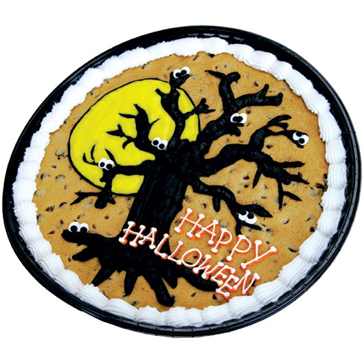 Halloween Cookie Cakes  Spookfest Halloween Cookie Cake