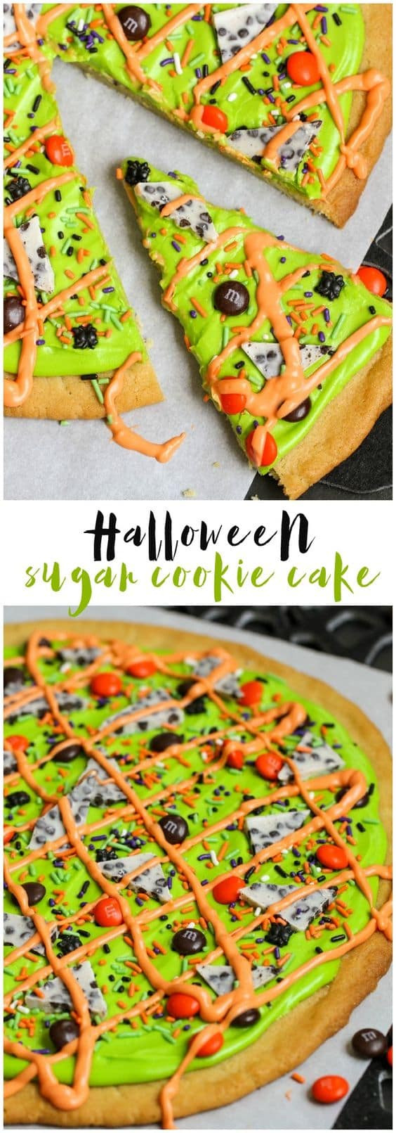 Halloween Cookie Cakes  Fun Halloween Cookies The Girl Who Ate Everything