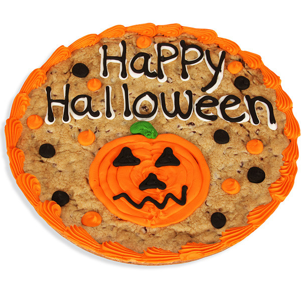 Halloween Cookie Cakes  Happy Halloween Cookie Cake by Cheesecake