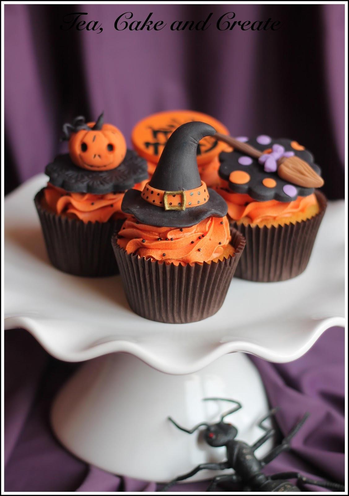 Halloween Cookies And Cupcakes  Tea Cake & Create Halloween Cookies and Cupcakes