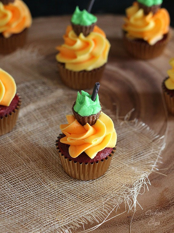 Halloween Cookies And Cupcakes  Halloween Cauldron Cupcakes Cookies and Cups