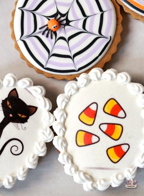 Halloween Cookies Ideas  Easy Decorated Cookies for Halloween