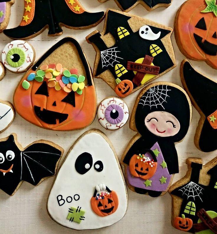 Halloween Cookies Ideas  Best 25 Halloween cookies ideas on Pinterest