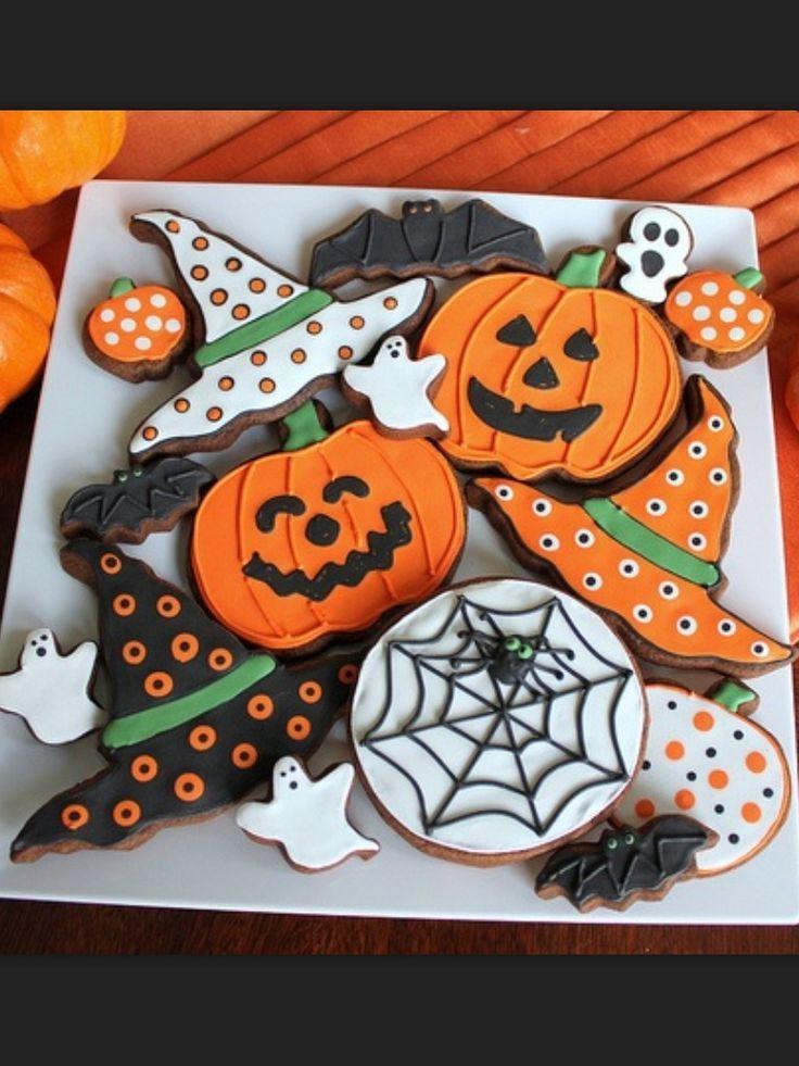 Halloween Cookies Ideas  Halloween Cookies cookies